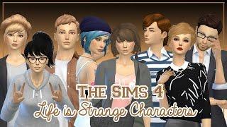 getlinkyoutube.com-The Sims 4 Create a Sim   Life is Strange Characters