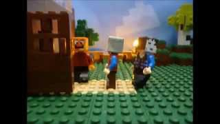 getlinkyoutube.com-Lego Minecraft Stopmotion Herrbergman, GLP, Paluten #Paluten Animation