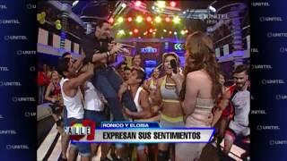 getlinkyoutube.com-#Calle7 – Ronico y Eloísa se dieron un beso en pleno programa al vivo