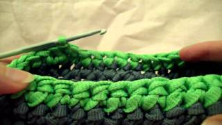 getlinkyoutube.com-TUTORIAL BORSA FETTUCCIA CAMBIO COLORE(tutorial sling bag color change)