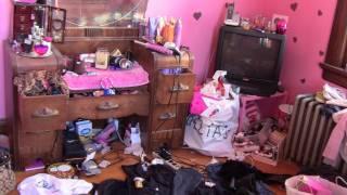 getlinkyoutube.com-me cleaning my room (: