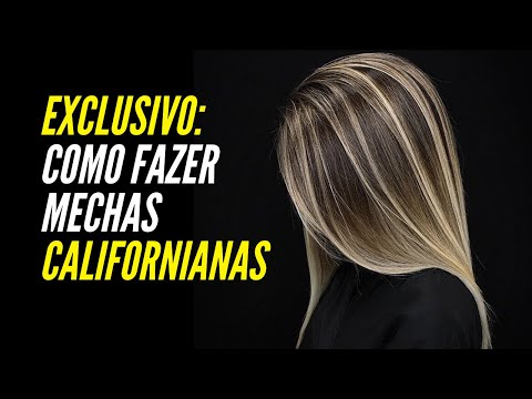Mechas californianas [ Loiro Platinado] David Rocha