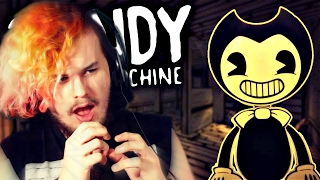 getlinkyoutube.com-DISNEY MEETS HORROR!! | Bendy And The Ink Machine Gameplay (Chapter 1)
