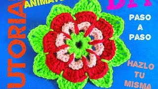 getlinkyoutube.com-Aprende aTejer Doily Mandala!!! - Doily Crochet Mandala Tutorial