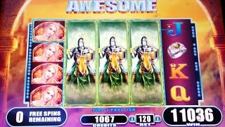 getlinkyoutube.com-Black Knight II Slot Machine-4 Bonuses+ Progressive