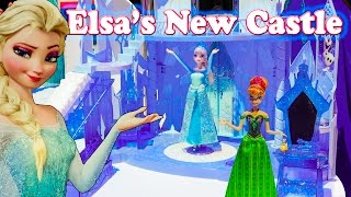 getlinkyoutube.com-FROZEN Disney Frozen Elsa New Castle a Disney Frozen Video Toy Review 2
