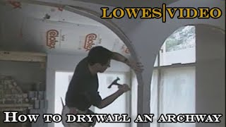 getlinkyoutube.com-How to Build a Drywall Arch