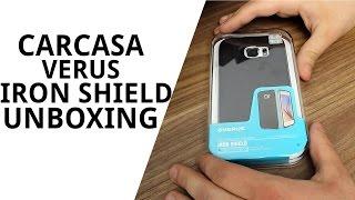 getlinkyoutube.com-Carcasă Samsung Galaxy S6 VERUS Iron Shield Unboxing!