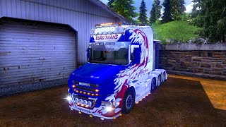 getlinkyoutube.com-Euro Truck Simulator 2 - Scania T Longline reworked
