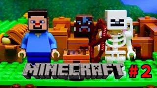 getlinkyoutube.com-レゴ【マインクラフト】ストップモーションLEGO Minecraft stop motion episode2    21114 mojang