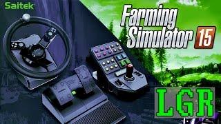 getlinkyoutube.com-LGR - Saitek Farming Simulator Controller Review