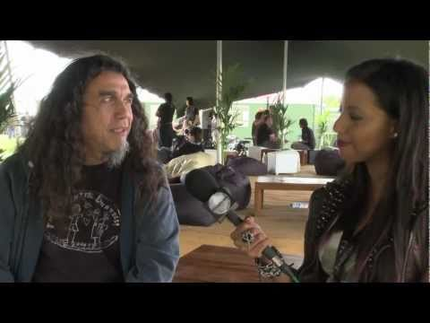 Interview with Tom Araya from Slayer - Sonisphere Knebworth 2011