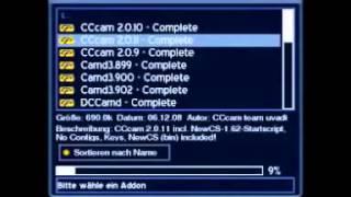 getlinkyoutube.com-CCCam Setup on Dreambox Blue Panel