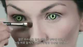 getlinkyoutube.com-[한글자막]Maleficent Make Up Tutorial 말레피센트 메이크업 튜토리얼