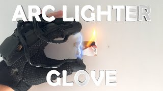 getlinkyoutube.com-DIY Arc Lighter Glove! - Spy Gadget (Electric, Burns Anything You Touch!!!)