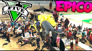 getlinkyoutube.com-GTA V MOD EXPLOSION EPICA FINAL !! RETOS ABSURDOS !! GTA 5 PC MOD Makiman
