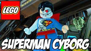 getlinkyoutube.com-Lego Batman 3 - Cyborg Superman e o Batmansuperman