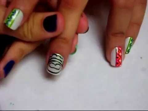 uñas decoradas de wamba
