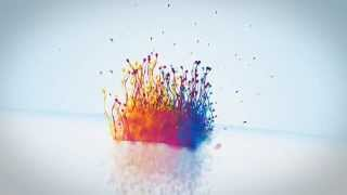 After Effects Template - Particle Splash Logo Reveal