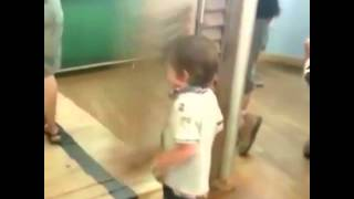 Kid Gets Hit By Door Remix Compilation