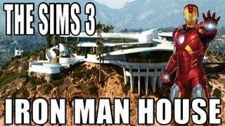 The Sims 3 - House Building - Iron Man House