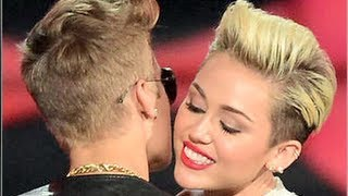 getlinkyoutube.com-Justin Bieber & Miley Cyrus Hook Up At Club?!