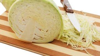 getlinkyoutube.com-Нарезка , шинковка капусты ножом.Как правильно нарезать капусту?