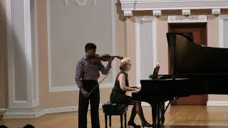 M. Bruch, Concerto N 1 in G minor, 3rd Mvt. - Nathan Lo