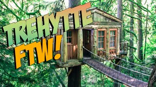 getlinkyoutube.com-VERDENS BESTE TREHYTTE! - The Forest