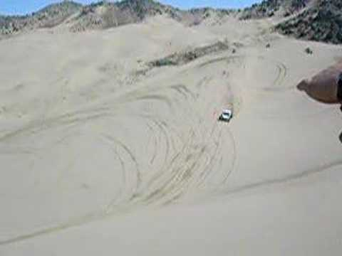 sand rail jumps