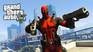 getlinkyoutube.com-DEADPOOL!! (GTA 5 Mods)