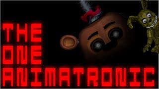 getlinkyoutube.com-Brutte Copie di FNAF #19 Provando The One animatronic e one night at Plushtrap