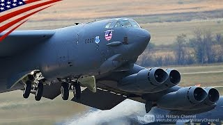 getlinkyoutube.com-B-52爆撃機スクランブル 核攻撃の危機に全ての爆撃機が一斉離陸 - All B-52 Bombers Scrambling: Takeoff to Nuclear Attack Crisis