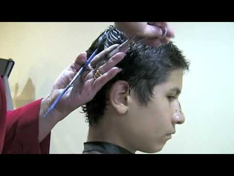 Como cortar el cabello a un niño, How to cut short hair step by step