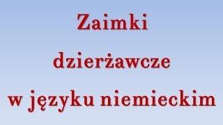 getlinkyoutube.com-Zaimki dzierżawcze niemiecki