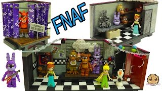 getlinkyoutube.com-Five Nights At Freddy's FNAF Show Stage, Office Playsets + LEGO Surprise Blind Bags