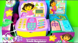 getlinkyoutube.com-Caja Registradora de Dora la Exploradora |Dora the Explorer Musical Cash Register