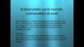 getlinkyoutube.com-Subhanallahi wa bi hamdi subhanallahi al-azim 10x  Palm tree will be planted for him in Paradise