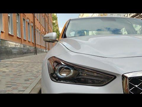Первый тест-драйв Genesis G70 от каршеринга Яндекс Драйв
