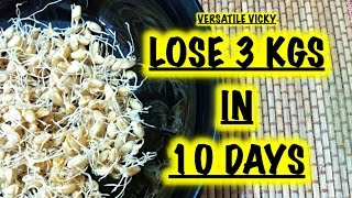 getlinkyoutube.com-How to Lose Weight Fast 3Kg in 10 Days with Wheat Sprouts / How to make Wheat Sprouts