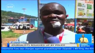 getlinkyoutube.com-Kisii town turned into scenes of chaos and running battles by Gusii Institute of Technology students