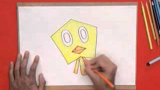 getlinkyoutube.com-สอนศิลป์ตอนที่35 ว่าวลอยลม