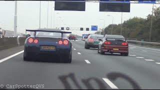 1020 HP GTR + 1212 HP GTR etc! Epic Accelerations & Revs