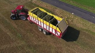 getlinkyoutube.com-Ensilage d'herbe Aout 2016 avec autochargeuse .
