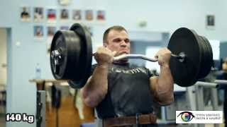 getlinkyoutube.com-Denis Cyplenkov. Biceps curls. 140 kg x 5