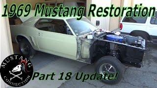 getlinkyoutube.com-1969 Ford Mustang Garage Find Part 18 Mustang Restoration Connection