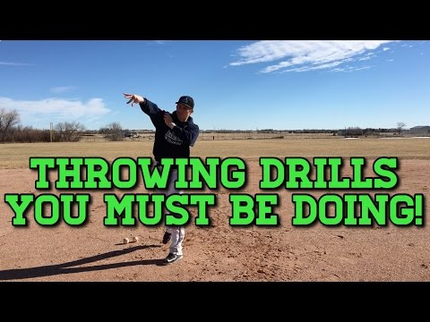 How To: Baseball Throwing Drills Youth Players MUST Be Doing!