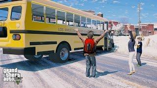 getlinkyoutube.com-GTA 5 REAL LIFE CHILD MOD#56-SCHOOL TRIP TO NORTH YANKTON