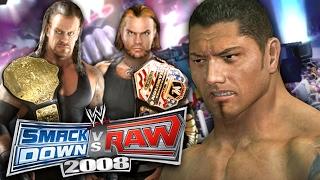"getlinkyoutube.com-WWE SmackDown vs Raw 2008 - GM MODE - ""SHOCKING HEEL TURN!!"" (Ep 3)"