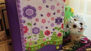 getlinkyoutube.com-Carpeta decorada + fácil + regreso a clases